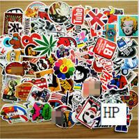 10pcs /lot Sticker Bomb Decal Vinyl Roll Car Skate Skateboard Laptop Luggage UU