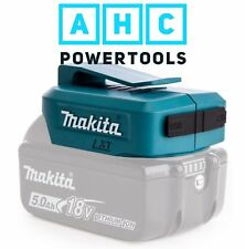 Makita DEBADP05 Li-Ion USB Adaptor for 14.4 & 18v LXT Batteries