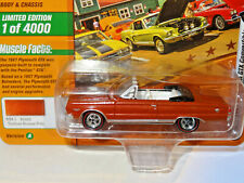 JOHNNY LIGHTNING 2A MUSCLE CARS N COFFEE BRONZE 1967 PLYMOUTH GTX CONVERTIBLE