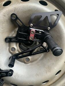 Zx6r Lsl Rearsets , Track Race Rearsets, 2010