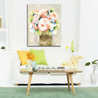 Pot Flowers Stretched Canvas Prints Framed Wall Art Home Office Decor Painting