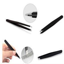 Fashion Professional Eyebrow Tweezers Hair Slanted Stainless Steel Tweezer New