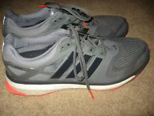 Mens Gray ADIDAS Energy Boost Techfit Athletic Running Shoes 15
