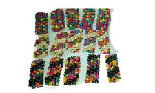Joblot of 60 pcs Mixed colour & Design wooden bracelets - New Wholesale