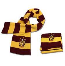Harry Potter Gryffindor House Knit Wool Scarf, Wizarding World, Hogwarts, Noble