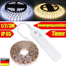 LED Leiste Lichtband Streifen Stripe Beleuchtung mit Timer PIR Bewegungsmelder