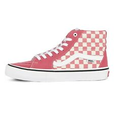 Vans Off the Wall Sk8 Hi Desert Rose Pink Shoes Mens 13