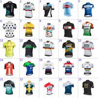 Mens team cycling jersey Short sleeve cycling Short sleeve jersey bicycle jersey