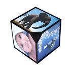 360° Rotating Multi Foto Cornici Per Cubo Arredo Casa Famiglia Montature Nere