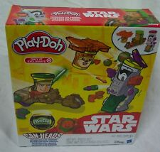 Star Wars RETURN OF THE JEDI Can-Heads MISSION ON ENDOR PLAY-DOH PLAY SET NEW