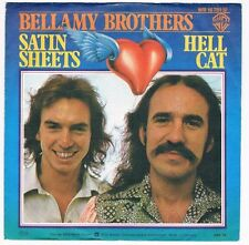 """Bellamy Brothers-Satin sheets/Hell cat/7"""" Single von 1976"""