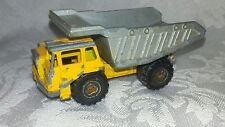 Vintage Diecast Majorette BENNE CARRIERE 1/100 DUMP TRUCK Vehicle 274 France