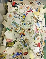 Deutschland Off Paper Randomly Picked 2000 pcs Stamps Collection Lot Germany DDR