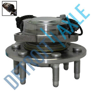 2WD FRONT Wheel Bearing & Hub For 07-13 Chevy Silverado GMC Sierra Escalade 1500