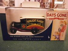 Lledo Days Gone Model A Ford Van with Sunlight Flakes Decals
