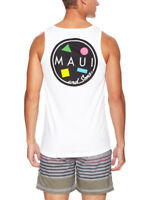 Maui and Sons Classic Cookie Logo Tank Top Official - Brand New Maui & Sons- NWT