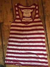 Jack Wills Size 8 Pink Stripe Vest