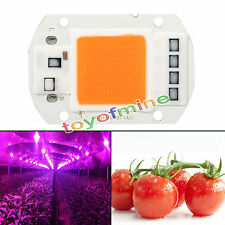 50W COB LED Hydroponics Grow Light Chip Full Spectrum DIY Plant Lamp