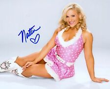 NATALYA NATTIE NEIDHART WWE DIVA SIGNED AUTOGRAPH 8X10 PHOTO