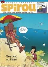 JOURNAL DE SPIROU N°3811 . 2011 + PAPER TOY MON PÉPÉ EST UN FANTÔME . ( 158 ) .
