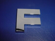 "FORMULA BOAT LOGO EMBLEM CHROME LETTER 2-1/4"" HIGH ""F"" NEW GENUINE"