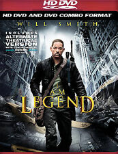 I Am Legend (Combo HD DVD and Standard DVD) Factory Sealed!  Ships in 24 hours!