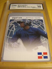 MIGUEL SANO TWINS 2012 LEAF RIZE WORLD CLASS ROOKIE RC # WC-19 GRADED 10