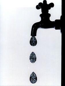1984 Irving Penn Water Faucet Spigot Dripping Diamonds Art Photo Engraving