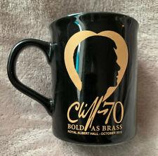 Cliff Richard 70 Bold As Brass October 2010 Albert Hall Concert Merchandise Mug