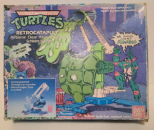 TMNT 1989 Retrocatapult Ooze Assault Weapon NIB w/ooze - Complete