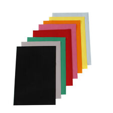 11Colors Flock Heat Transfer Vinyl PU Heat Press Film vinyl pack 21cmx30cm