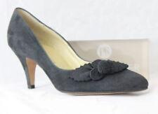 Größe 41 Damenschuhe mit Blockabsatz aus Faux-Wildleder