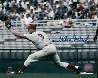 Frank Howard Signed 8X10 Photo Autograph Senators Stretch at 1st w/COA Auto