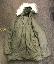 MILITARY EXTREME COLD WEATHER PARKA AND TROUSERS SET WATER REPELLENT UNIFORM