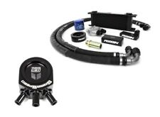 Perrin Oil Cooler Kit & GrimmSpeed Air/Oil Separator Black For Impreza 02-05 WRX