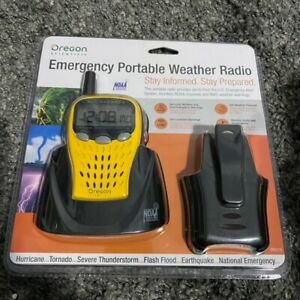 Oregon Scientific Emergency Portable NOAA Weather Alert Warning Radio WR601N