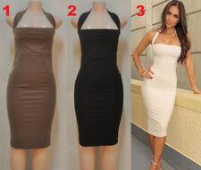 Unbranded Bodycon Halter Sleeve Dresses for Women