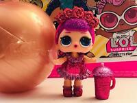 LOL Surprise BLING GLITTER SPARKLE BAMBOLA SUGAR QUEEN DOLL GIOCHI PREZIOSI OMG