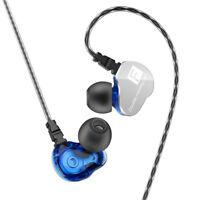 Dual Driver Sport Headphone Stereo HIFI In-Ear Earphone Deep Bass Headset Earbud