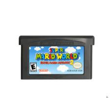 Super Mario World 2 Cartridge Card For Game Boy Advance GBA SP GBM NDS NDSL