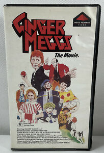 VHS Video Tape Ginger Meggs The Movie 1982 - Super Rare Movie