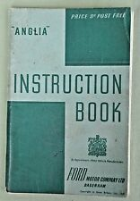Vintage Anglia Instruction Book Manual 1947 Ford Motor Company