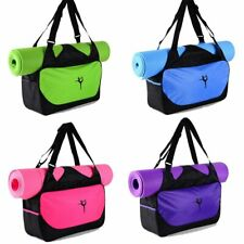 Yoga Mat Bag Tote Holder Waterproof Sport Carrying Gym Fitness Handbag Case US