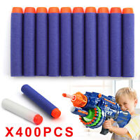 UK 400× Blue Kids Toys Soft Darts Gun  Bullet Blaster N-Strike Elite Series