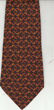 Gucci-[If New $400]-Authentic-100% Silk Tie-Made In Italy-Gu23- Men's Tie