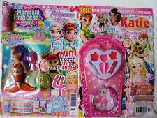 Girls Magazines My Favourite Princess Stories, Disney Frozen Mermaid Free Gifts!