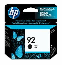 GENUINE NEW HP 92 C9362WN Black Ink Cartridge