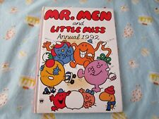 Mr Men & Little Miss Annual 1992 (hardcover picture book)