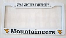 NCAA West Virginia University License Plate Frame / Cover New Mountaineers WV