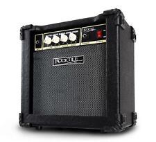 Mini Combo Amplificatore per Basso Elettrico Bass 15 Watt 3 Band EQ AUX Cuffie